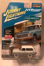 JOHNNY LIGHTNING 1:64 CHASE 1969 CHEVY TRAIL BLAZER DIE-CAST WHITE JLCP7001