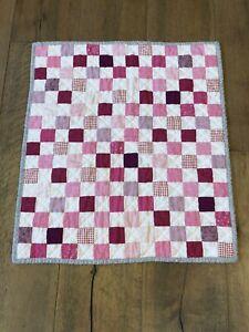 Handmade Preemie Baby Girl Quilt