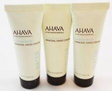 Bundle of 3 Ahava Dead Sea Water Mineral Hand Cream 68 oz Mini Travel Purse Size