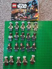 Lego Star Wars Rebel Trooper Mini figure Bundle