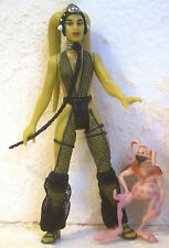 Star Wars: Oola & Salacious Crumb Crumb Fan Club Power Of The Force  2 1998