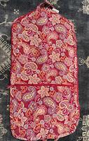 VERA BRADLEY XL Garment Bag Raspberry Fizz  Dress Garmet Hanging Bag NWT