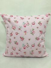 "4 x Floral Shabby Chic Cushion covers, 100% cotton,16""x16"""