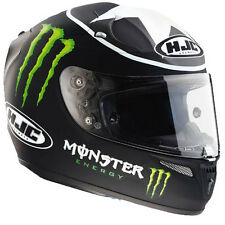 HJC R-PHA10 Monster Ben Spies Replica Motorcycle Motorbike Helmet Black XL