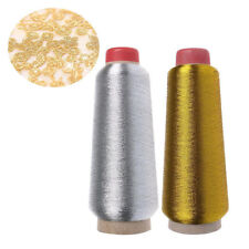 Gold&Silver Metallic Embroidery Machine Thread Polyester Cones Rayon Handcraft