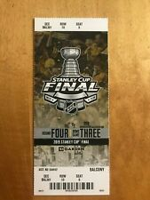 1 Stanley Cup Game 5 ticket stub Bruins Blues Boston TD Garden