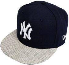 Chapeaux visières bleus New Era pour homme
