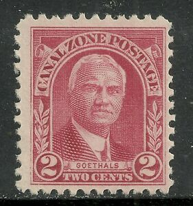 U.S. Possession Canal Zone stamp scott 106 - 2 cent issue of 1928 - mng - 3x
