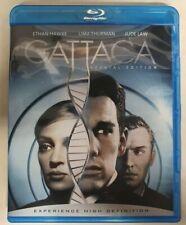 Gattaca (1997) Blu-ray disc - Ethan Hawk, Uma Thurman, Jude Law - Fast shipping!