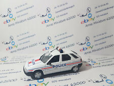 Citroën ZX Police  norev    1:43 eme   emballage d'origine (  neuf  )