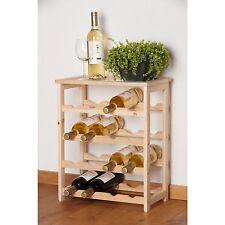 Elegant Woody Wine Rack For 16 Bottels (46 X 23 x 55 cm)