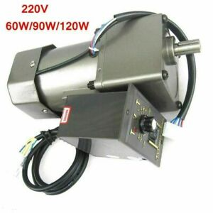 60W/90W/120W Gear Motor Adjustable Speed Assembly Line Tansmission with Governor