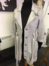 Color Plata de Moda Vestido/Chaqueta Tamaño M