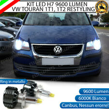 KIT FULL LED VW TOURAN 1T1 1T2 RESTYLING LED H7 6000K CANBUS 9600 LUMEN LED
