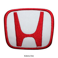 Honda Car Brand Logo Embroidered Patch Iron on Sew On Badge For Clothe etc