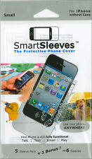 SmartSleeve Protective Cover for iPhone w/out Case- 6 Pack
