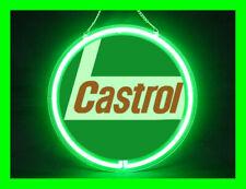 CASTROL Hub Bar Display Advertising Neon Sign