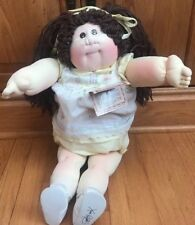 Cabbage Patch Kid Soft Sculpture Doll Signed Xavier 83/84 W/Orig Tags Papers Etc
