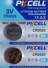 2 PILES CR2025 / CR 2025 / 3V LITHIUM / ENVOI RAPIDE