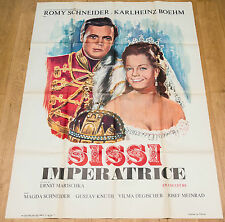 Affiche de cinéma : SISSI IMPÉRATRICE de ERNST MARISCHKA