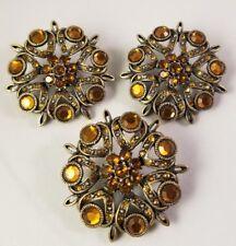 Vintage Womens Brooch Pin Lot of Three
