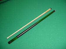 BRAND NEW GREEN 21 oz CUE WITH  LD TAPER SHAFT CUE pool billiards 20G-0779