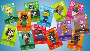 Animal crossing Amiibo cards series 1, 2, 3 & 4, YOUR PICK (authentic)
