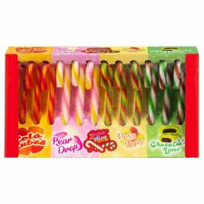 12 Flavoured Candy Canes /New stock/Sweets Deluxe Ltd