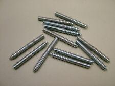 Gougeons  bois vers métal meuble fixation cheville vis M6x50mm paquet x 12,