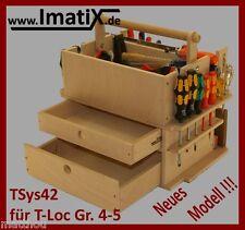 ImatiX TSys42 * Werkzeugeinsatz Holzeinsatz f. T-Loc Systainer Gr. 4-5 NEU!!!