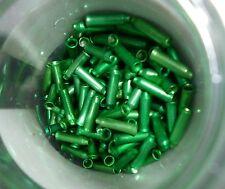 (0,15 € Stück) 20  Endkappen grün  für Innenseile