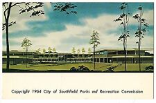 City of SOUTHFIELD PARKS and RECREATION COMMISSION MICHIGAN MI Postcard