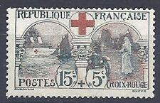 TIMBRE FRANCE 1918 n°156   NEUF** COTE 300€ Signé CALVES