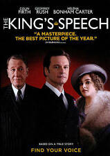 The Kings Speech (DVD, 2011) Colin Firth