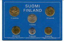 Offizielle Euro-Kursmünzensätze aus Finnland