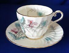 Vintage Aynsley Wayside 8180 Bone China Tea Cup Set w/Gold Trim- Made in England