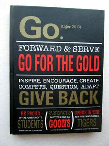 2013 GILBERT HIGH SCHOOL YEARBOOK Arizona AZ Tiger
