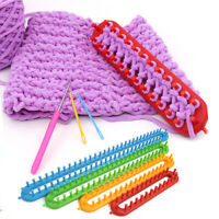 Plastic Loom For Shawl Scarf Hat Socks Wool DIY Long Knit Knitter Knitting Tool
