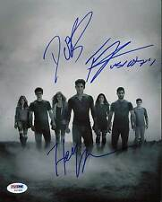 Teen Wolf Cast (3) Posey, O'Brien & Roden Signed 8X10 Photo Reprint