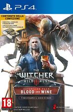 The Witcher 3 - Espansione Blood & Wine (ITA) DLC PS4 - totalmente in italiano
