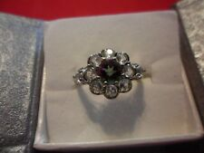 Mystic Topaz, White Topaz Stainless Steel Ring-Size 8-2.45 Carats