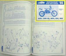 KTM 250 300 SX MXC EXC EGS Ersatzteilliste Ersatzteilkatalog Parts List MJ 1995
