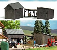 Busch Wooden Sheds and Shelter 1595 HO Scale