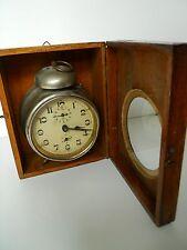Vintage desk clock Kienzle  with wooden box