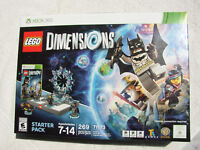 LEGO DIMENSIONS XBOX 360 STARTER PACK 71173 NEW FACTORY SEALED!