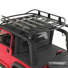 Smittybilt 17185 Jeep Wrangler Rugged Rack Roof Basket - 50inX70in - 250 Lb.