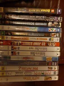 Bulk lot of Dvds x 14 .Family & comedy.