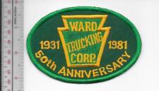 Vintage Trucking & Van Lines North Carolina Ward Trucking 50 Years Charlotte, NC