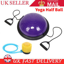 Ball Balance Yoga Home Exercise Rehab Wobble Board Dome Balls Balancing Disc UK