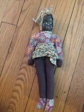 vintage rag cloth doll folk mammy poland